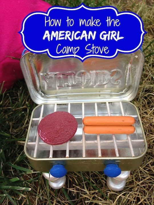 How to make a Camp Stove for your American Girl Doll