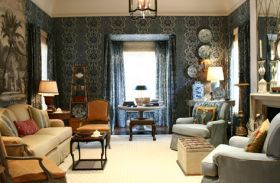 Southern Accents Show House 2003 | Cathy Kincaid Interiors