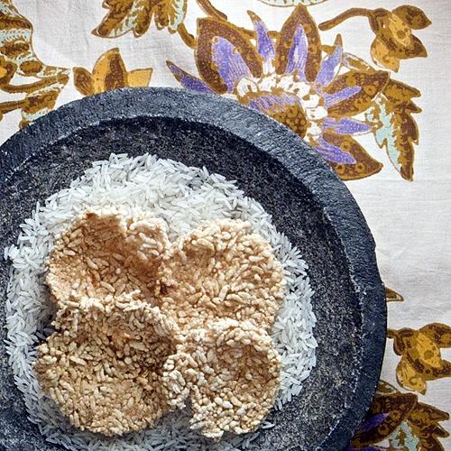 Rengginang--Fried Rice Crackers