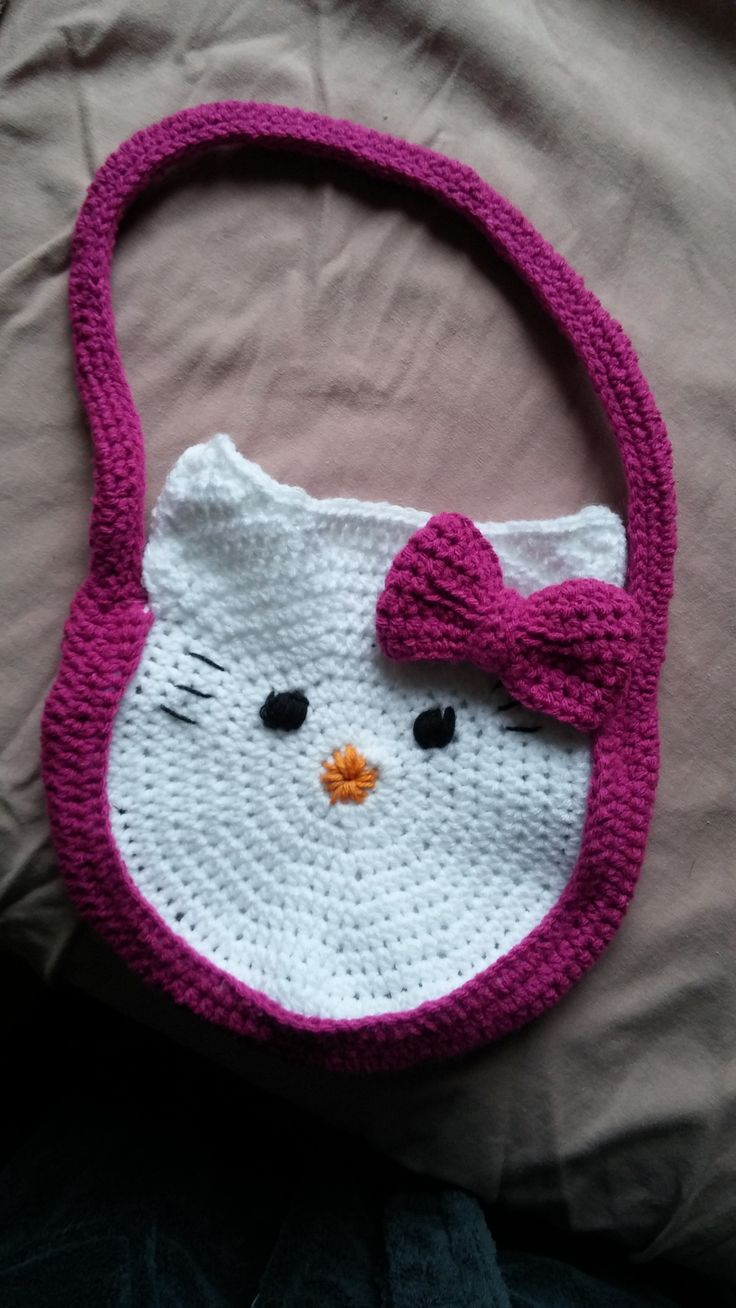 A Hello Kitty bag that I made for my niece