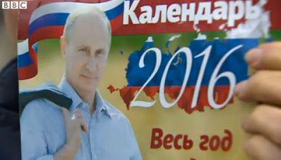 Vladimir Putin's 2016 calendar on sale in Russia - http://www.thelivefeeds.com/vladimir-putins-2016-calendar-on-sale-in-russia/