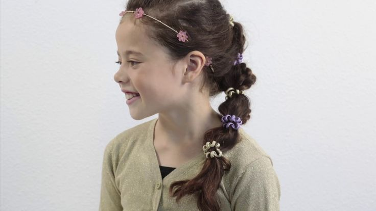 Vlechtstaart met Winter Dreams haarbandje en cable elastics #hair #HOW-TO #winterdreams #kids