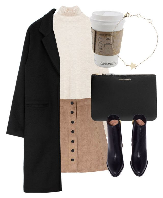 """""""Untitled #6249"""" by laurenmboot ❤ liked on Polyvore featuring Glamorous, Comme des Garçons and Estella Bartlett"""