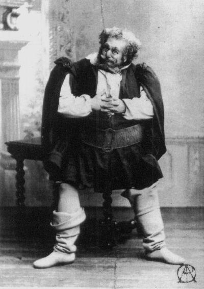 Victor Maurel. Falstaff