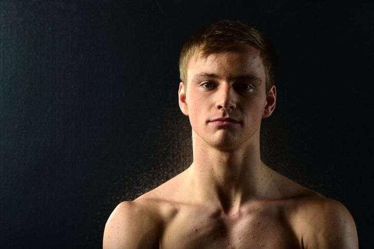 Pin for Later: And Now, a Hefty Dose of Hot Olympic Athletes Steele Johnson  Country: USA Sport: Diving Age: 20