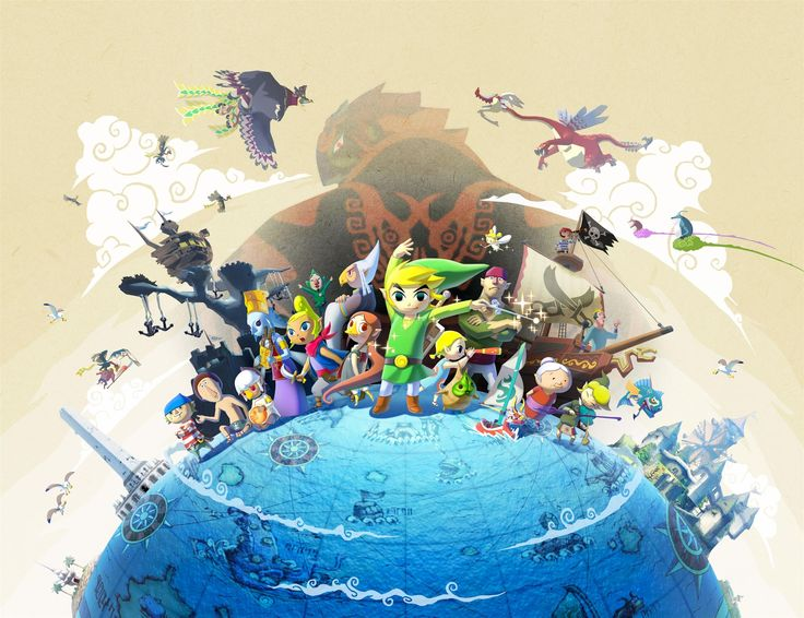 The Legend of Zelda: Wind Waker | Background | Characters