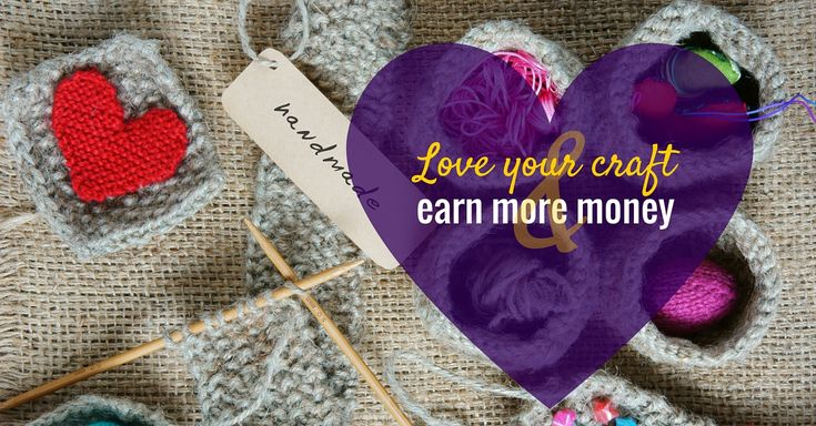 I work with so many ladies who LOVE what they do. They've spent years perfecting their art and put SO much love and attention into each and every beautiful creation they design, hand make and sell. Each and every one is a gem. But often the rewards aren't really there. Find out how to make more money for crafters