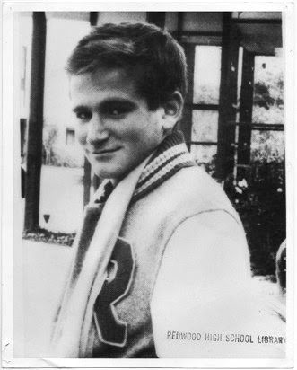 Robin Williams at Redwood High School ca. 1969., photo by ...