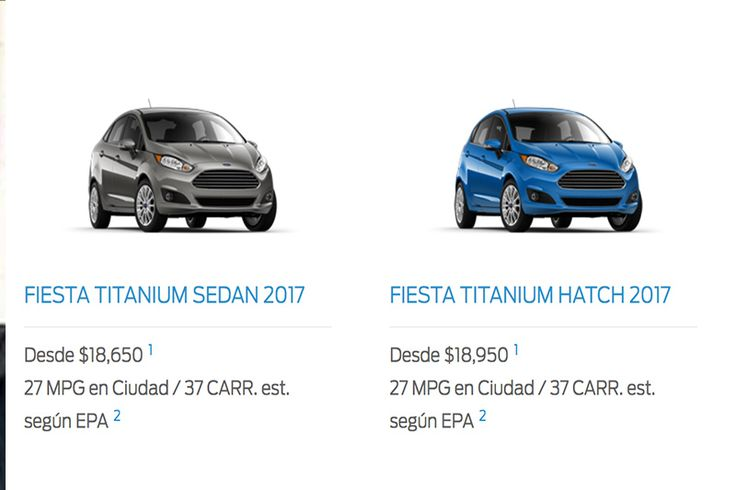 ¡GRACIAS, MADURO! Las 4 versiones del nuevo Ford Fiesta que no podrá comprar en la patria (salvo que sea inmortal) (+Fotos) - http://wp.me/p7GFvM-D0K