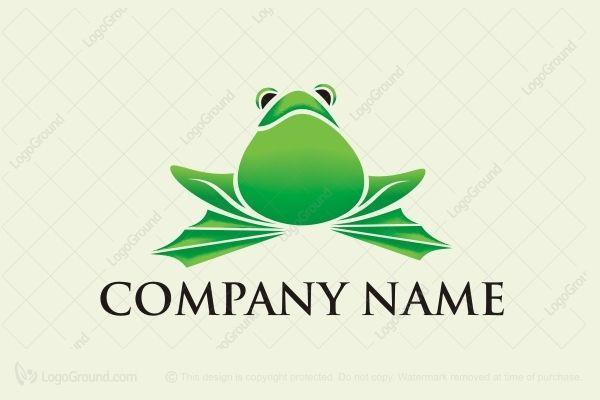 Logo for sale: #Frog Logo Bullfrog Logo Frogs Frog Logo Bullfrog logo #logos http://www.logoground.com/logo.php?id=9809