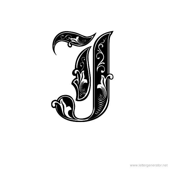 Aldus Royal Font Alphabet J With Images Lettering Alphabet