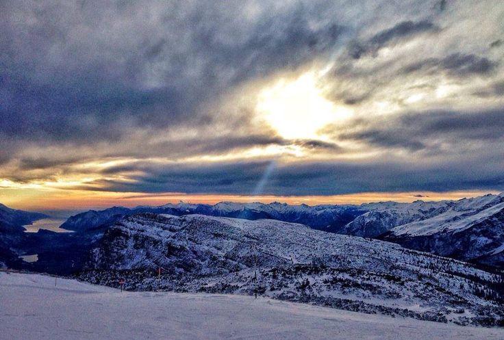 L'alba sulle Dolomiti di Brenta