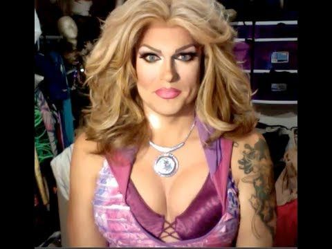 Creating Breasts/Boobs: Drag Queen Cleavage Make-Up Tutorial