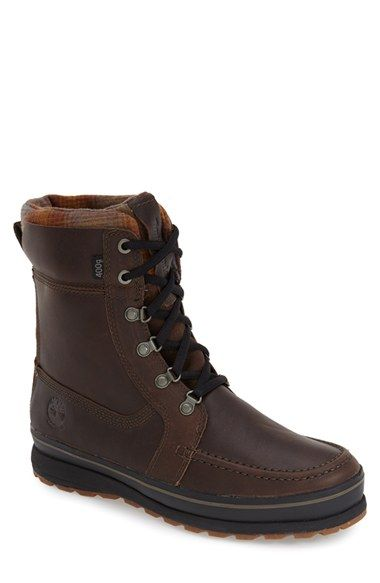 Timberland 'Schazzberg' Insulated Waterproof Boot (Men) available at #Nordstrom