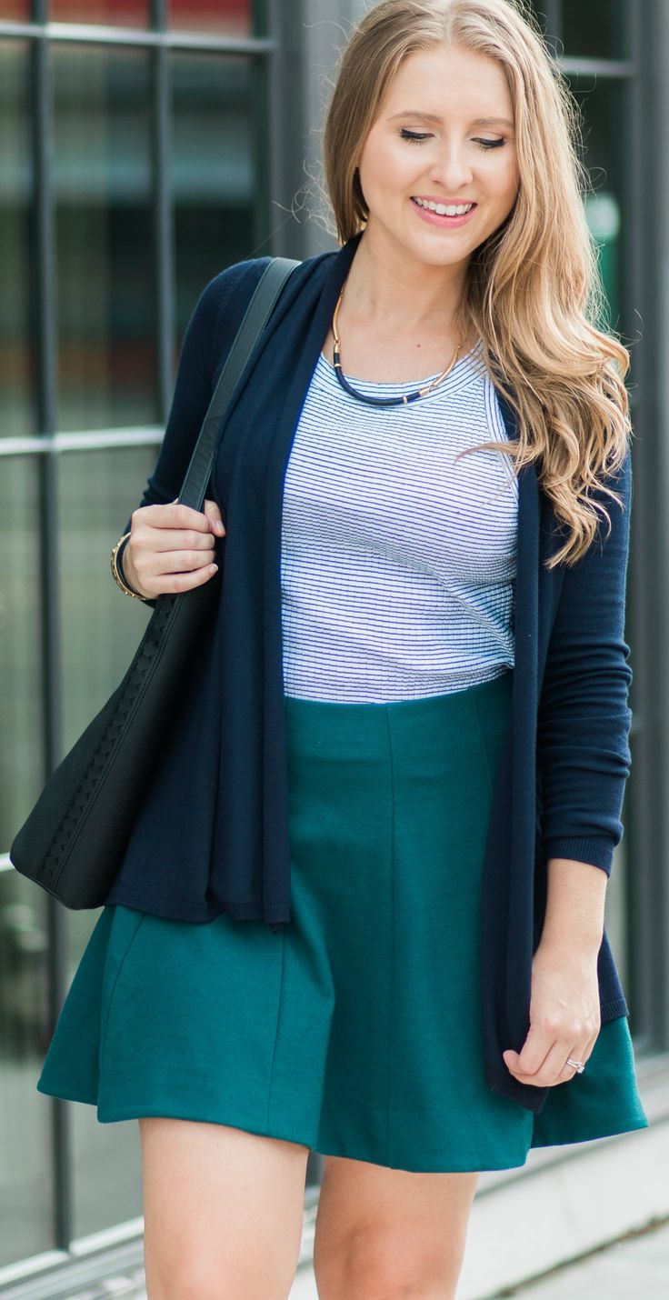 Love this affordable fall outfit idea- especially the Stella & Dot Marcell Collar Necklace! Click through this pin to see the full look + a review of the @stellaanddot  fall collection by style blogger Ashley Brooke Nicholas. P.S. Thanks to Stella & Dot for sponsoring today's post!