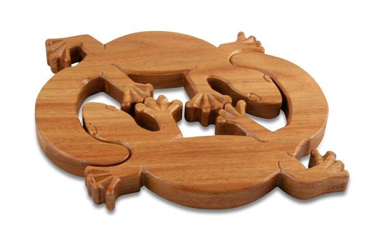 Doolbi Gecko Trivet | Australian Woodwork || Sustainable Wood Products: www.australianwoodwork.com.au