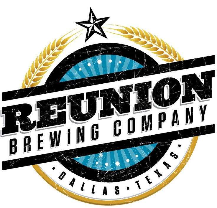Vintage looking badge, wheat circle, star burst reunion brewing company logo.jpg 960×921 pixels