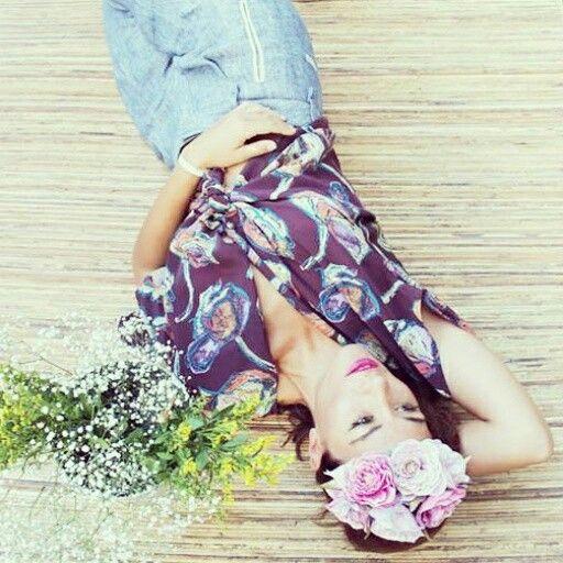 Corona de flores, Lolita París Tocados