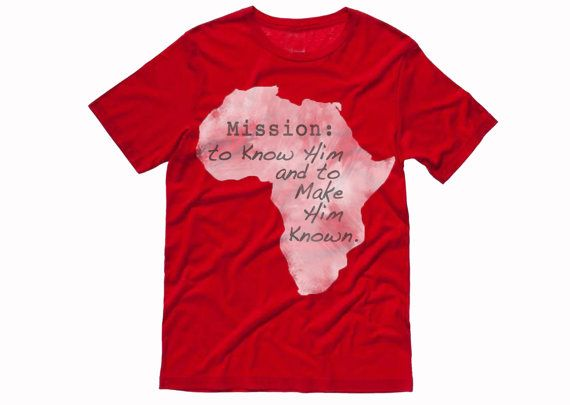 Fun way to support global missions.  Africa Mission Trip Fundraiser Tee Shirt.  Uganda; Eleven22; Mercy Avenue