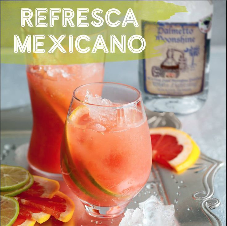 It's never too early to start thinking about Cinco de Mayo! Spice your cocktails up this year with a little Palmetto White Lightning Moonshine!  Refresca Mexicano Recipe: 1 oz. Palmetto White Lightning Moonshine Dash Campari 6 oz. Grapefruit Soda Small wedge of pineapple, grapefruit, and lime