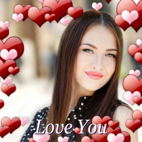 Facebook Valentine's Day Profile Picture Frames – How to – Love You – Heart Photo Filter Pics Overlay Cover for Valentine 2018