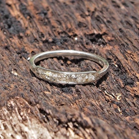 Soul Light // Raw Diamond Ring