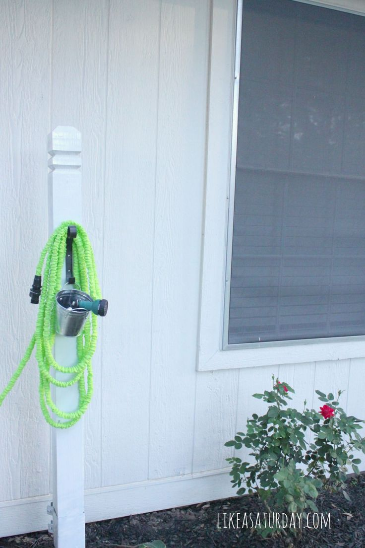 best 25 garden hose hanger ideas on pinterest garden hose