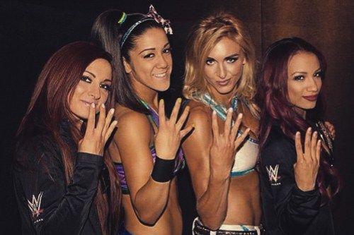 La Revolución Femenil de NXT: Becky Lynch, Bayley, Charlotte y Sasha Banks - instagram.com/wwebeckylynch