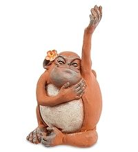 "ED-289 Фигурка ""Обезьяна"" скульптура обезьяна символ года 2016 новогодние подарки на новый год сувениры фигурка обезьянка новогодняя купить"