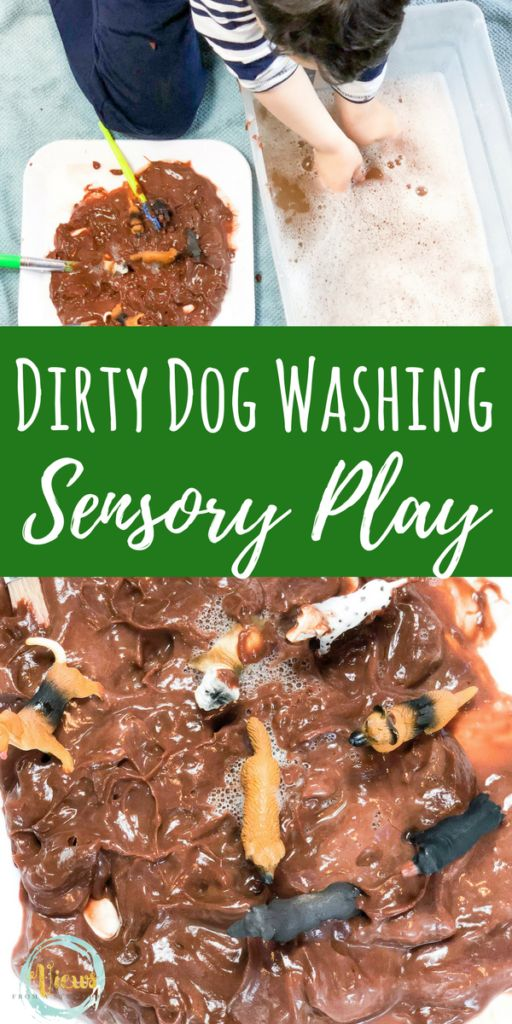 Edible sensory play perfect for babies and toddlers, as well as for older children. A pudding play extension activity to the book, Harry the Dirty Dog.