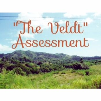 This Omega English contains an assessment on the short story The Veldt by Ray Bradbury.  The assessment could be given as exam, quiz, or homework refresher. It contains 45 multiple choice questions that include literary elements, critical thinking questions, higher order questions, text dependent questions, etc.