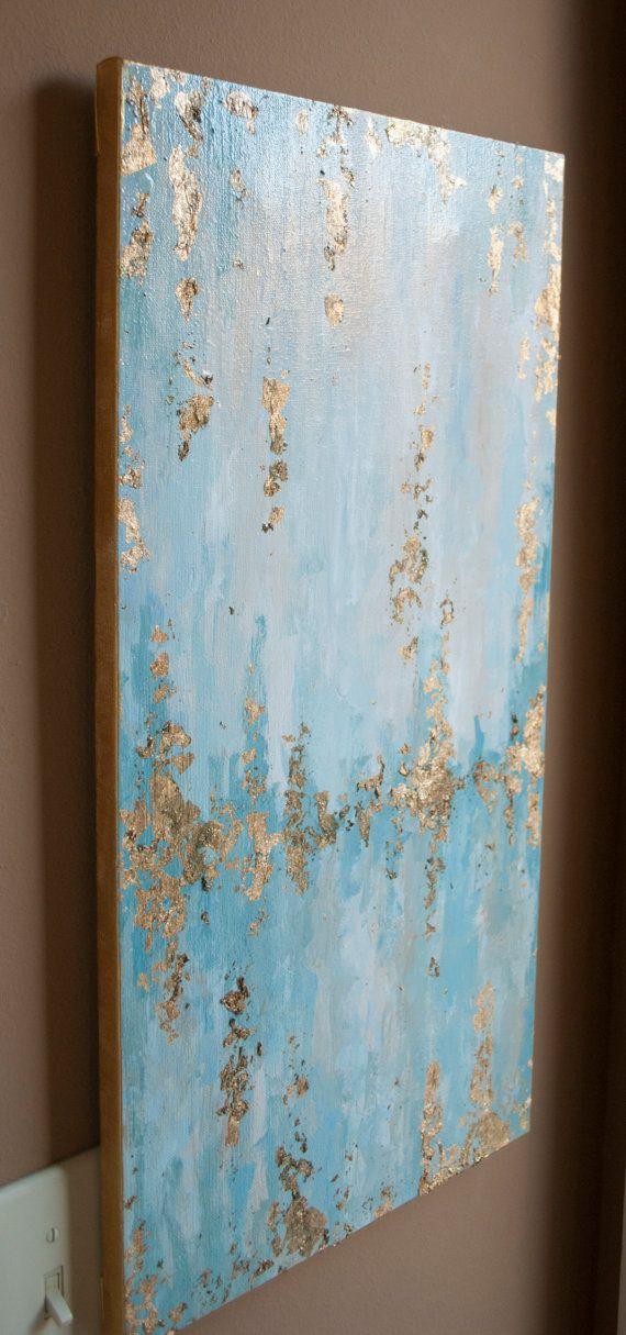 Asian canvas foil art agree