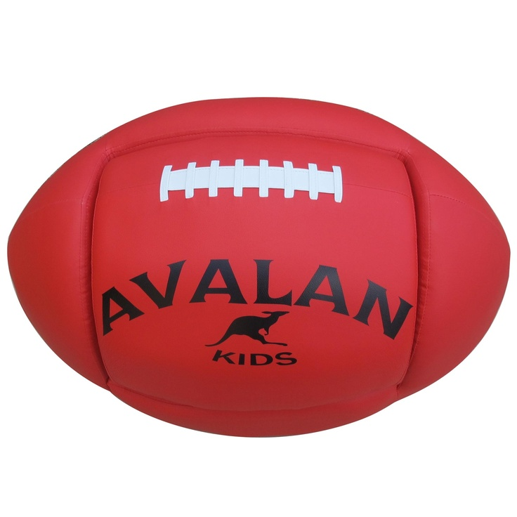AFL Football Sofa Red, Avalan Kids