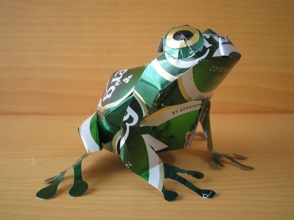 Sculptures Made from Aluminum Cans | 123 Inspiration
