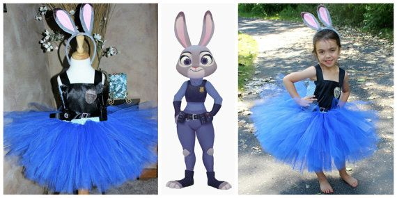 Judy Hopps Inspired Zootopia Halloween Costume, Zootopia Halloween Costume, Judy…