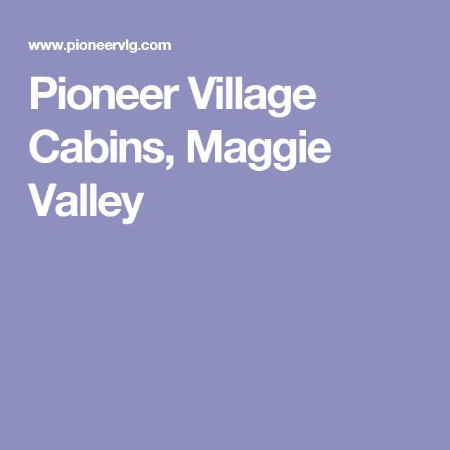Pioneer Village Cabins, Maggie Valley