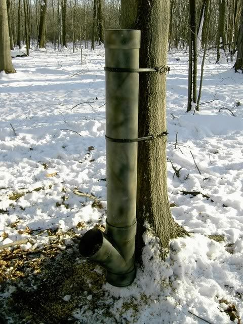 Deer feeder pvc. Hopefully i have woods on my land