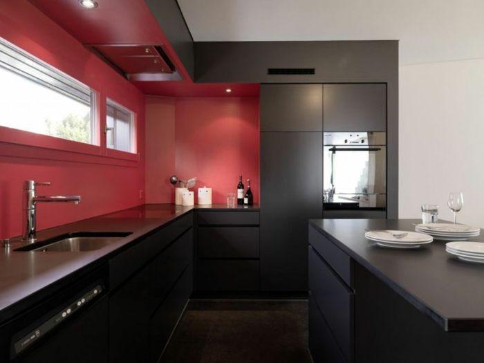 Die besten 25+ Schwarze Küchenschränke Ideen auf Pinterest