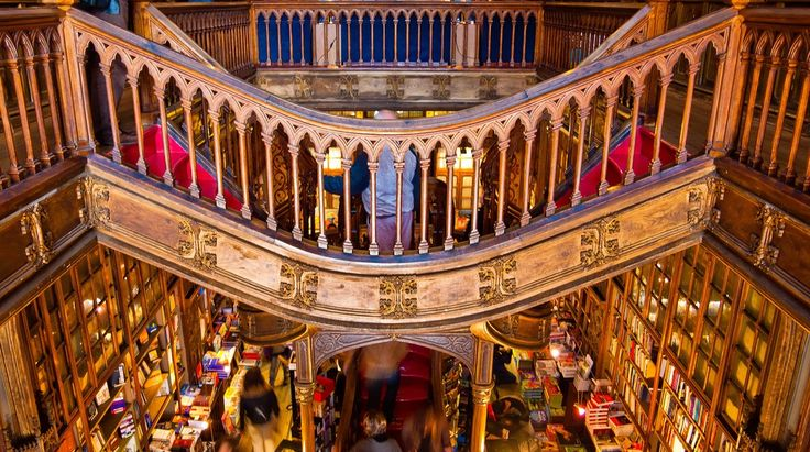 Livraria Lello opened its door 110 years ago. It is one of the most beautiful bookstores in Porto, Portugal.