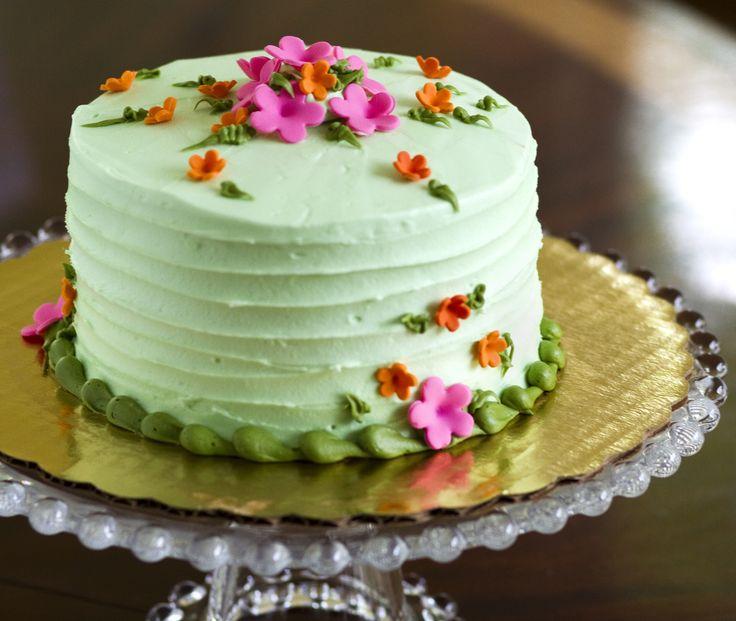 Floral Birthday Cake Photos
