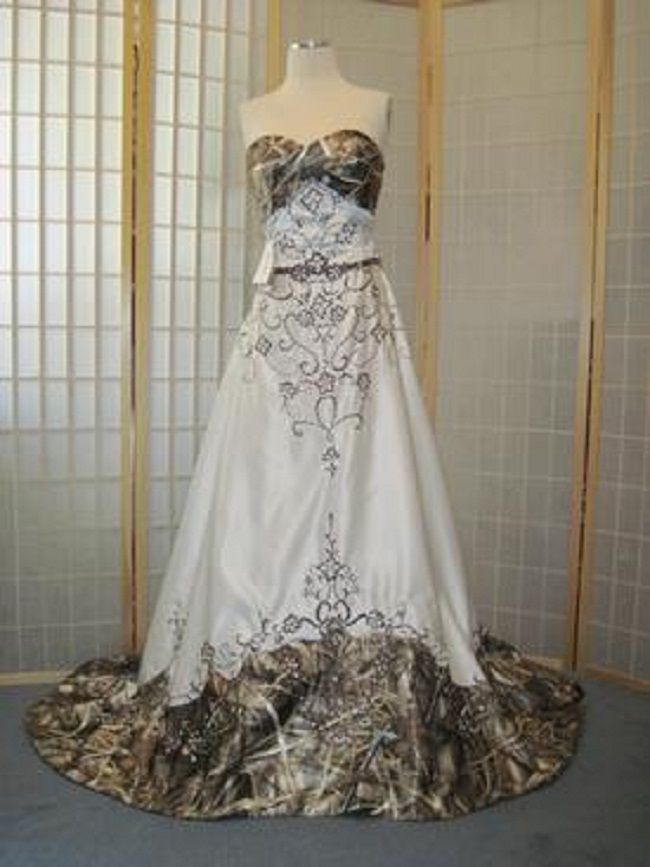 camo wedding dress | touch of camo wedding dresses