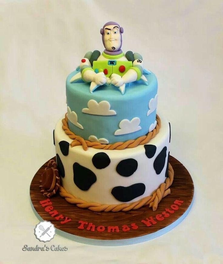 Toy Story Cake Toy Story Fondant Cake Pinterest