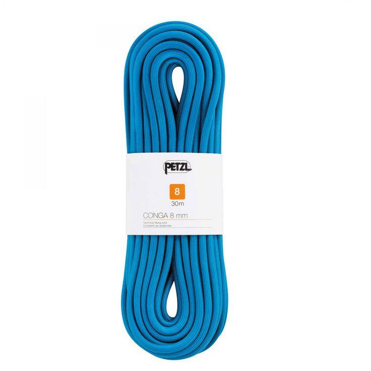 Petzl CONGA 8 mm x 20m| Halbstatisches Seil mit 10 mm Durchmesser für Speläologie und Canyoning
