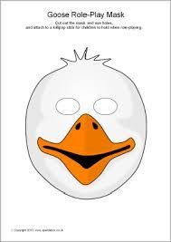 swan mask template - 13 best images about ugly duckling play costumes on pinterest