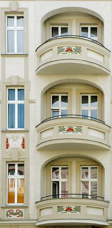 Wroclaw - balconies / Poland