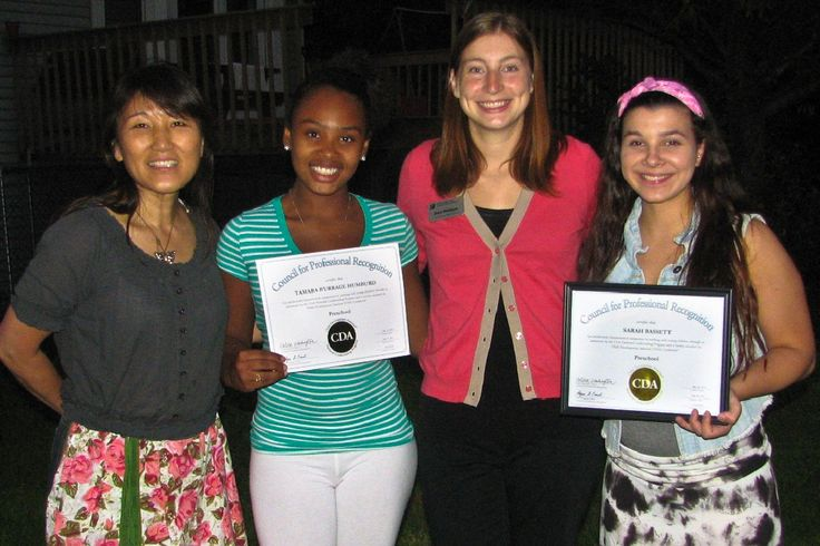Central Campus students Tamara Burrage Humburd and Sarah Bassett became the first Iowa high school students to be awarded the national Child Development Associate Credential™ from the Council for Professional Recognition. The CDA requires 120 hours of education, 480 work experience hours with children ages birth to five years, completion of a professional portfolio, and a formal assessment process including a verification visit and exam.