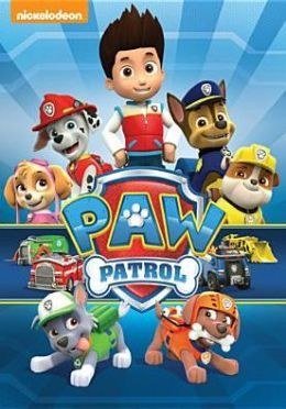 paw patrol characters - His fave TV show