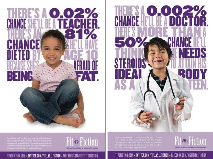 Posters from Fit vs. Fiction