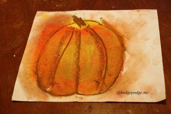 Apple or Pumpkin Art Tutorials and Resources for Fall Art!
