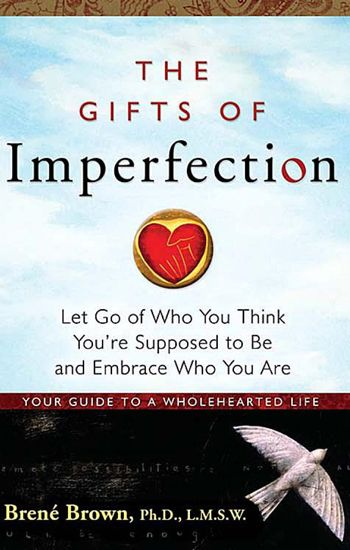 The Gifts Of Imperfection by Brene Brown - paradoxically is the perfect choice for me thanks @tahiraiqbal